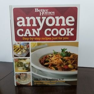 Anyone can cook cookbook
